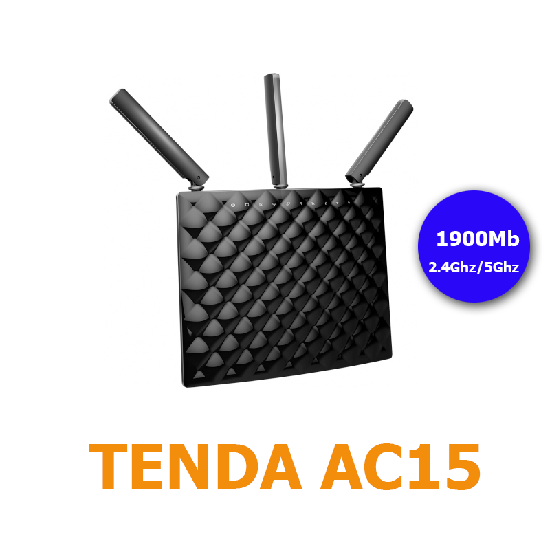 Tenda AC15 ( AC1900 Smart Dual-Band )