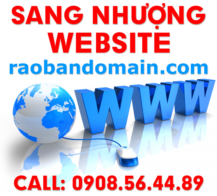 Sang nhượng website raobandomain.com